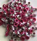 "1/8"" Hot Pink Eyelets-25 per pack"