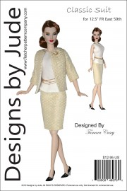 "Classic Suit for 12.5"" Fashion Royalty East 59th PDF"