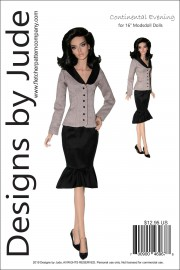 "Continental Evening for 16"" Modsdoll PDF"