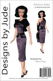 Fashion Plate for Silkstone Barbie PDF