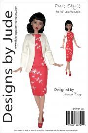 "Pure Style Pattern for 16"" Deja Vu PDF"