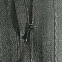 """4 1/2"""" Black Zipper"""