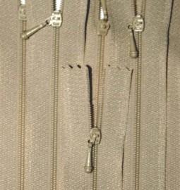 """4"""" Tan Zipper"""